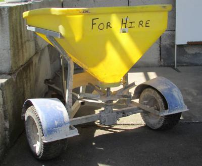Fertiliser Spreader for Hire | New Plymouth | Taranaki